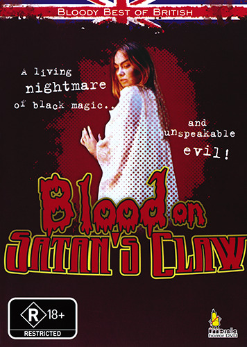 Linda Hayden BLOOD ON SATAN'S CLAW - PERVERSE SAVAGERY HORROR DVD (NEW & SEALED)