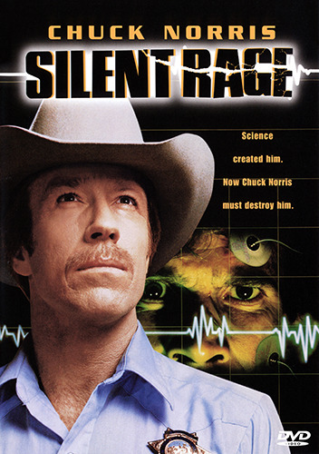 Chuck Norris SILENT RAGE DVD (NEW & SEALED)