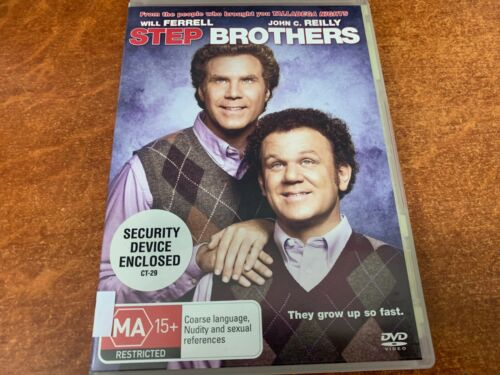 Step Brothers (MA15+, DVD R4)