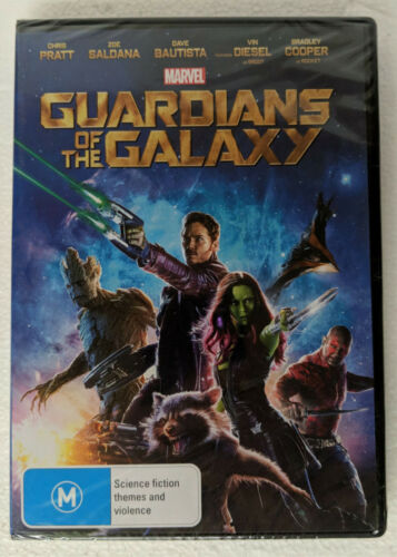 GUARDIANS OF THE GALAXY DVD sealed region 4 PAL oz seller Marvel New