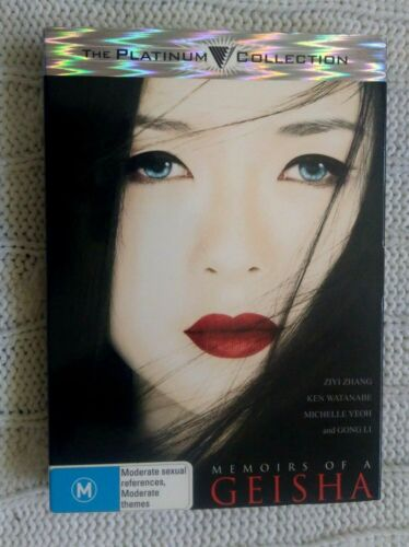 MEMOIRS OF A GEISHA- THE PLATINUM COLLECTION – DVD - R-4 -LIKE NEW- FREE POST