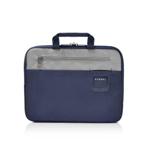 "Everki 13.3"" ContemPRO HIGH QUALITY Laptop Sleeve with Memory Foam Slim Navy Bag"