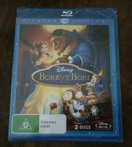 Beauty and the Beast Diamond Edition (2 Disc Set) Brand New & Sealed