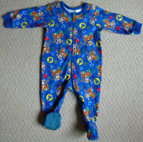 NWT Disney Baby Licensed Tigger Boys Jumpsuit Romper Coverall Size 00 or Size 0