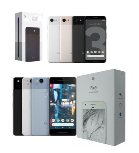 Google Pixel 1/2/3/XL/2 XL | Black/Silver/Blue | Verizon/AT&T/TMobile/Unlocked <br/> Shipped in original Packaging All Generations Available