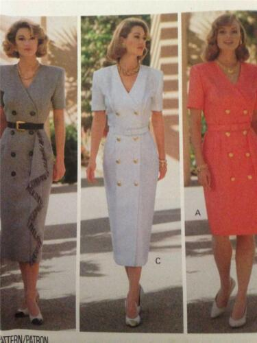 Butterick Ladies Easy Sewing Pattern 6481 Dresses with Bodice /& Sleeve Op...