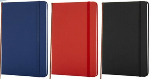 A5 NEW LINED HARDBACK NOTEPAD NOTEBOOK NOTE BOOK NOTES JOURNAL DIARY COLOURS