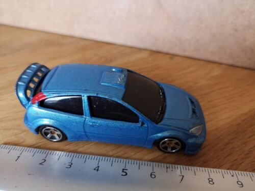 FORD FOCUS WRC/VOITURE MINIATURE CAR/ MAJORETTE M27