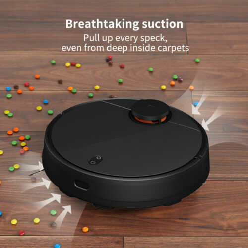 Xiaomi Mi 2 in 1 Sweeping Mopping Robot Vacuum Cleaner 2nd Generation - Black <br/> Smart Room Map ☀️2100Pa ☀️3 APP-Controllable Water Mode