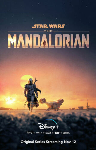 """The Mandalorian ( 11"""" x 17"""" ) Movie Collector's Poster Print - B2G1F"""