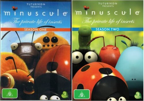 Minuscule The Private Life Of Insects Season 1-2 (DVD, 2012, 6 Disc)  Region 4