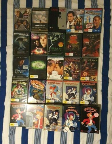 DVD Movie Collection - Choose From Dropdown Within Listing - Region 4