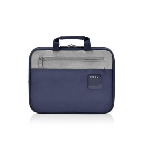 "Everki 11.6"" ContemPRO HIGH QUALITY Laptop Sleeve with Memory Foam Slim Navy Bag"
