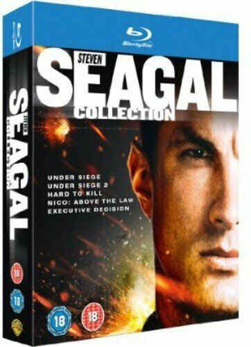 """THE STEVEN SEAGAL 5 MOVIES COLLECTION 5 DISC BOX SET BLU-RAY RB """"NEW&SEALED"""""""