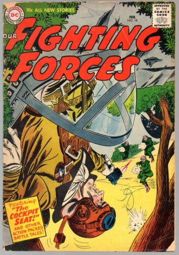 Our Fighting Forces 18        DC 1957