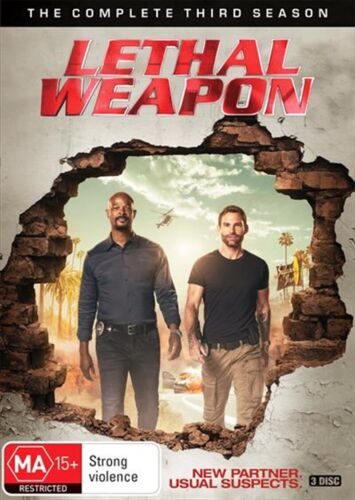 LETHAL WEAPON : Season 3 : NEW DVD