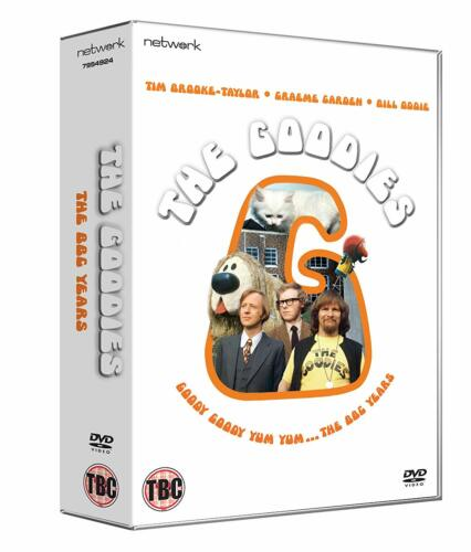 """THE GOODIES THE COMPLETE BBC SERIES COLLECTION DVD BOX SET 12 DISC R4 """"NEW"""""""