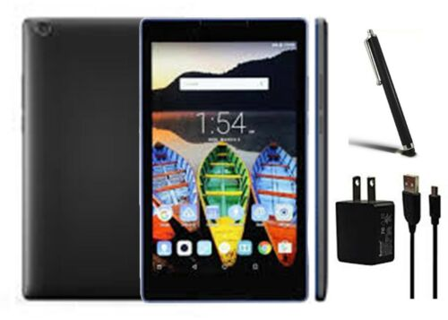 Lenovo Tab3 8 Black 16 GB / 8.0-inch / Wi-Fi ONLY / Bundle: Stylus Pen & Charger