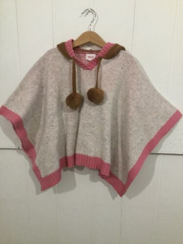 Seed Heritage Girls Winter Poncho Size Small