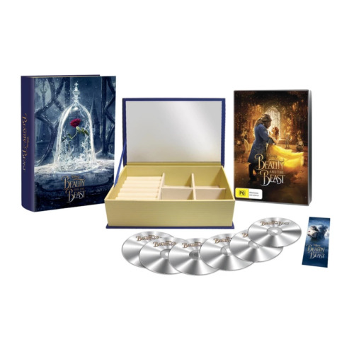 Beauty & the Beast Collector's Edition : NEW DVD / Blu-Ray + Jewellery Box