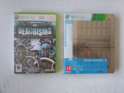 Lot pack Dead Rising 1&2 edition collector zombrex Microsoft Xbox 360 FR