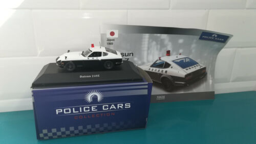 Voiture 1/43 Police cars collection ATLAS Datsun 240Z
