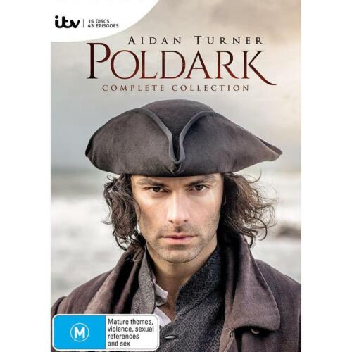BRAND NEW Poldark : Complete Collection (DVD, 2019, 15-Disc Set) *PREORDER R4
