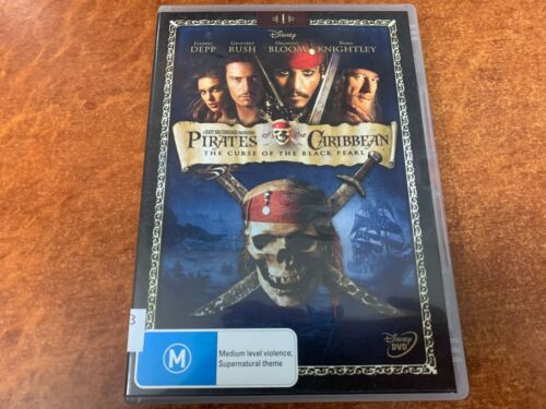 Pirates Of The Caribbean The Curse Of The Black Pearl (M15+, DVD R4)