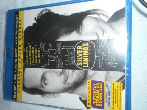 SILVER LININGS PLAYBOOK-BLURAY-DVD -DIG COPY- BRAND NEW SEALED