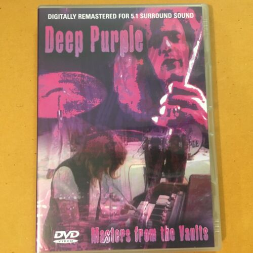 DEEP PURPLE - MASTERS FROM THE VAULTS - DIGITALLY REMASTERED - DVD - R4 - VGC