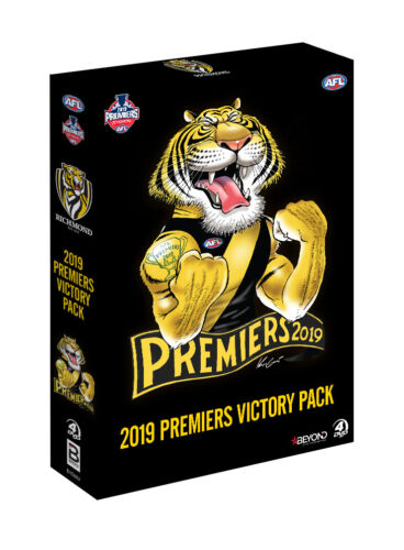 BRAND NEW AFL Premiers 2019 - Richmond Tigers Victory Pack DVD Set *PREORDER
