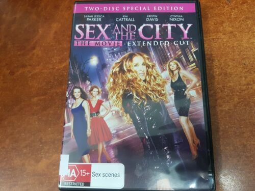 Sex And The City The Movie Extended Cut ( MA15+, DVD, R4 )