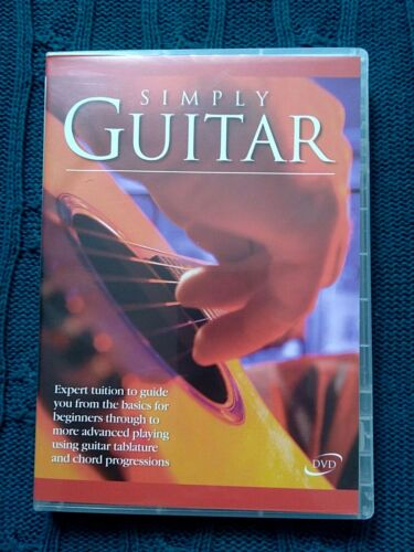 SIMPLY GUITAR – DVD- R-ALL- LIKE NEW-FREE POST IN AUSTRALIA
