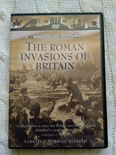 THE ROMAN INVASION OF BRITAIN – DVD- REGION-ALL- LIKE NEW- FREE POST AUS-WIDE