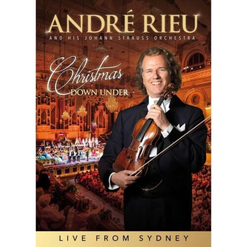BRAND NEW Andre Rieu - Christmas Down Under (DVD, 2019) Johann Strauss
