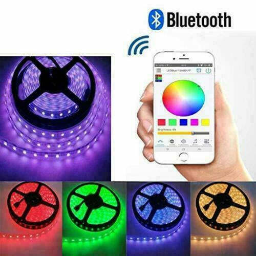 RGB LED Strip Lights IP65 Waterproof 5050 5M 300 LEDs 12V + Bluetooth Receiver <br/> SAME DAY SHIPPING, From MELBOURNE AUSTRALIA