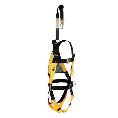 CGPK7 COMPLET.SAFETY FALL ARREST KIT Harness with 2 link points  Lanyard webbi