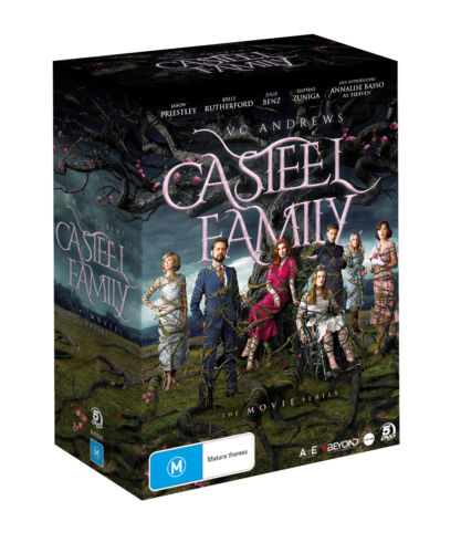 NEW V.C. Andrews Casteel Family - Complete Collection (DVD, 5-Disc Set) Movie