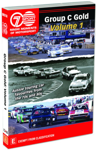 BRAND NEW Magic Moments of Motorsport - Group C Gold Volume 1 (DVD) R4