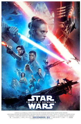 "Star Wars: The Rise of Skywalker (11"" x 17"") Movie Collector's Poster Print (T2)"