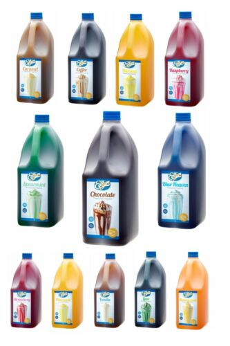 Edlyn Milkshake Syrup/Topping Many Flavours FREE SHIPPING
