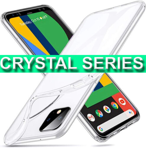 CLEAR Case For NEW Google Pixel 4/ XL Ultra Thin Shockproof Soft Gel Phone Cover
