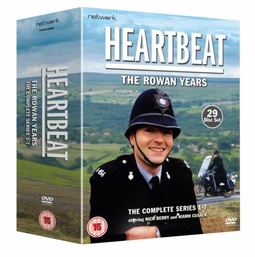 """HEARTBEAT THE ROWAN YEARS SERIES 1-7 COLLECTION 29 DISC DVD BOX SET R4 """"NEW"""""""
