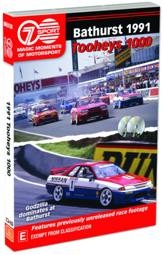 BRAND NEW Magic Moments of Motorsport - Bathurst 1991 (DVD, 2-Discs) *PREORDER