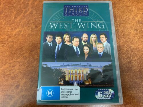The West Wing The Complete Third Season (M15+, DVD R4)