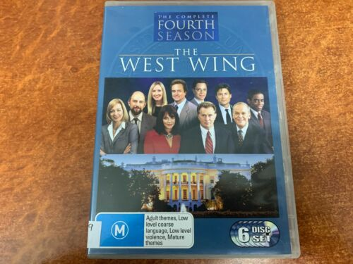 The West Wing The Complete Fourth Season (M15+, DVD R4)