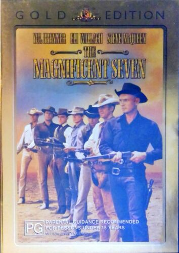 The Magnificent Seven (Yul Brynner, Eli Wallace, Steve McQueen) Pre-owned DVD