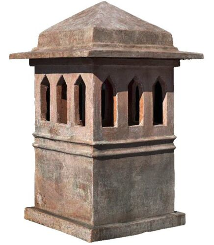 Grande comignolo toscano int.36x36cm - Tuscan chimney pot int.36x36cms (12010)