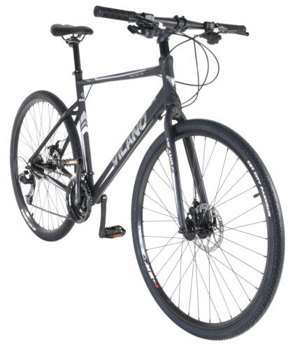 Vilano Diverse 3.0 Performance Hybrid Road Bike 24 Speed Disc Brakes <br/> Fast Shipping - Great Customer Service - Lowest Price!