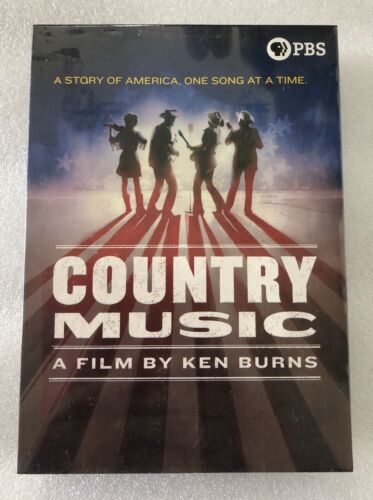 Country Music - A Film By Ken Burns DVD Set - Same Day Xmas Post